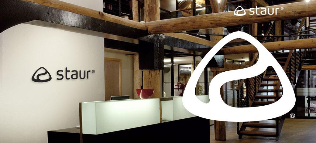 Staur logo identitet profil